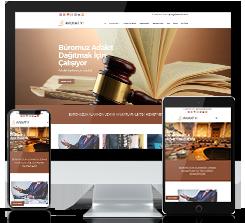 Avukat ve Hukuk Bürosu Scripti